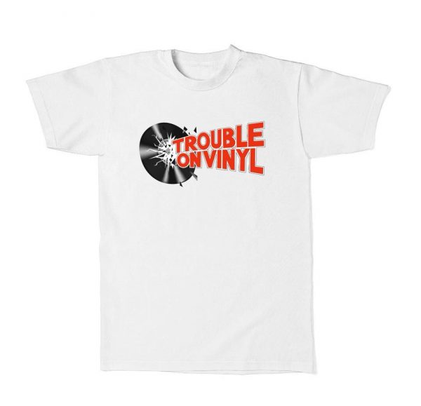 Trouble on Vinyl Heritage T Shirt